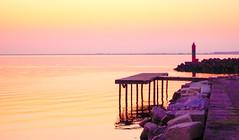 Schönheit  -  Beauty  (Marseillan - Südfrankreich) (gerhard.boepple) Tags: frankreich france marseillan sea sunset sunrise sonnenaufgang meer südfrankreich schönheit farbe color