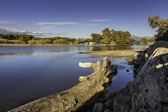 foce Sele (58lilu58) Tags: fiume river sky landscape paesaggio sele foce rivermouth canon canon760d cilento