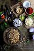 Ingredients for Kolhapuri Misal (Sia Krishna) Tags: monsoonspice streetfood foodstyling food foodie foodphotography foodblogger foodstilllifephotography vegan veganrecipe vegancurryrecipe vegetarian indianfood indiancuisine indianrecipe desi desifood recipe recipes regionalcuisines