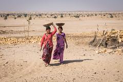 Rajasthan - Jaisalmer - Desert Safari traditional villiage-9