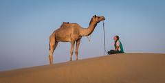 Rajasthan - Jaisalmer - Desert Safari with Camels-53