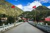 Bridge of Flags (Chas Pope 朴才思) Tags: 2017 china danba kham serk sichuan cycling iphone anning bridge