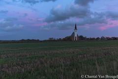 Kerkje Den Hoorn (Chantal van Breugel) Tags: blauweuurtje herfst landschap texel zonsondergang den hoorn oktober 2017 canon5dmark111 canon1635