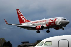 G-GDFH JET2 B737 NEWCASTLE (toowoomba surfer) Tags: airline airliner aviation aircraft jet aeroplane ncl egnt