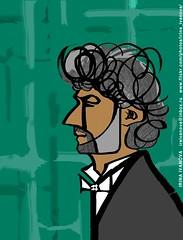 Kaufmann-2 (Irina V. Ivanova) Tags: illustration portrait opera theater musician music classical iconicportrait celebrity singer kaufmann