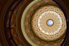 Rotunda, California State Capitol (sygridparan) Tags: rotunda sacramento corinthian californiastatecapitol government politics dome neoclassical historical landmark