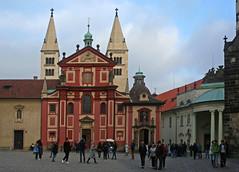 The Basilica of St. George in the Prague Castle (Wolfgang Bazer) Tags: stgeorgsbasilika prag basilica st george prague castle prager burg tschechien czechia