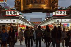 Sensō-ji (andyrousephotography) Tags: japan tokyo asakusa sensōji shrine temple buddhist lanterns lights dusk dark tourists visitors people traditional kimono skytree long walk andyrouse canon eos 5d3 5dmkiii ef24105mmf4l