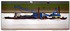 Babca (Morthole) Tags: slitscan ship boat schip boot barge binnenvaart schiff rheinschiff babca towboat duwboot schubboot poussage