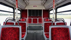BWI Airport Shuttle Gillig Low Floor Advantage Diesel #206 (MW Transit Photos) Tags: bwi airport shuttle gillig low floor advantage diesel 206