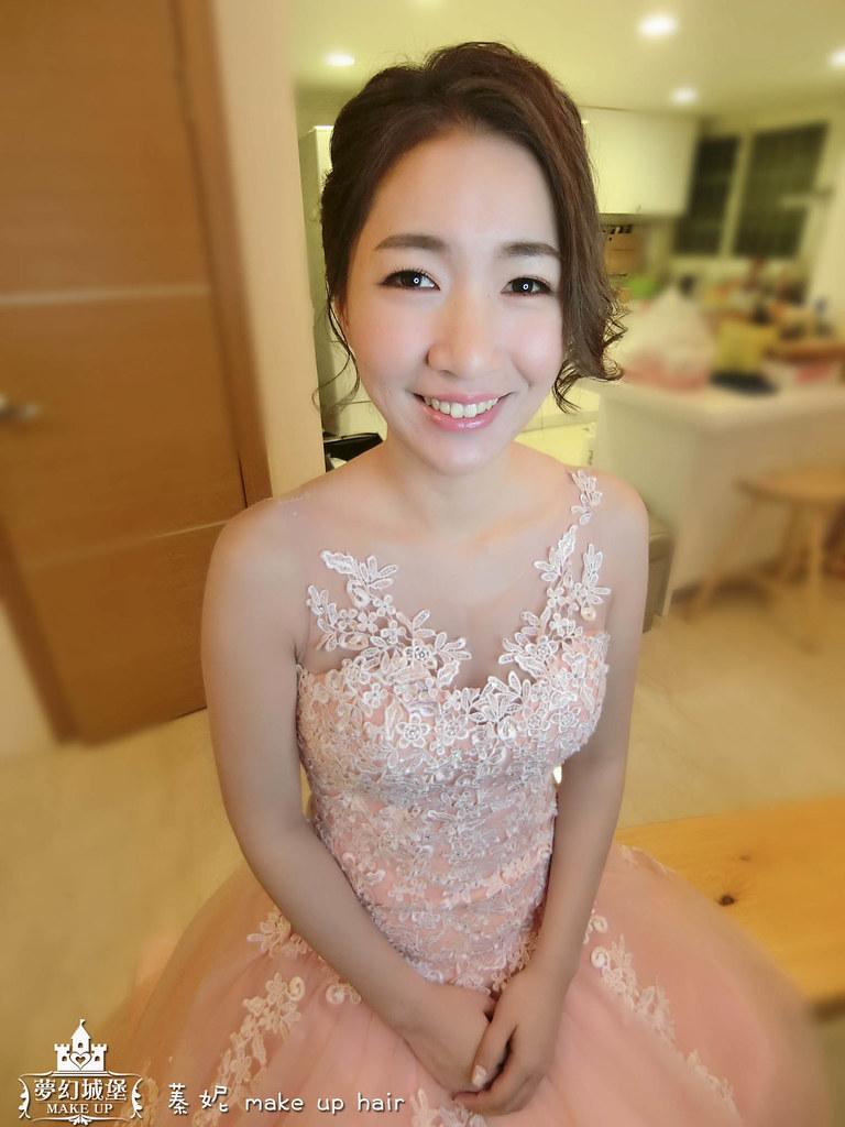 【新秘蓁妮】bride雅智 訂結婚造型 / 台中自宅