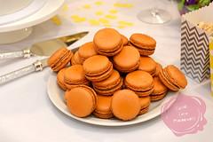 Macarons (Kandi Lane Photography) Tags: cake biscuit cookies orange party macarons tablesetting fun sugar