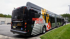 BWI Airport Rental Shuttle 2017 New Flyer Xcelsior XN60 #305 (MW Transit Photos) Tags: bwi airport rental shuttle new flyer xcelsior xn60