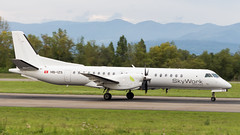 Saab 2000 HB-IZS SkyWork Airlines (William Musculus) Tags: basel mulhouse freiburg airport euroairport bsl mlh eap lfsb