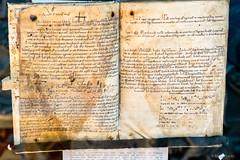 Codex, Heiligenkreuz, 1142/1147 (Anita Pravits) Tags: cistercians codex handschrift heiligenkreuz kloster kodex loweraustria middleages mittelalter niederösterreich stiftheiligenkreuz wienerwald zisterzienser abbey codices