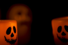ghostly HMM halloween (niro68) Tags: macromonday halloween ghost dark scary