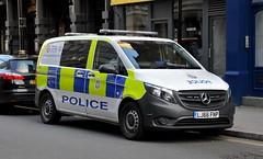 British Transport Police..Mercedes...Network Incident Response Team..LJ66 FNP (standhisround) Tags: police britishtransportpolice vehicle van mercedesbenz btp westminster emergency networkincidentresponseteam 999 broadway london uk stjamesspark transportforlondon