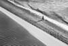 my way (alestaleiro) Tags: bw bianconero blackwhite monochrome monocromo bike bicicleta bicycle bicicle dune duna texture sand arena playa praia plage strand spiaggia brasil brazil jeri jericoacoara biking shadow sombra diagonal cross pedalear beach alestaleiro