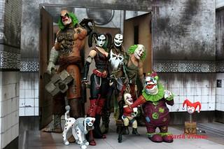 DC Collectibles Harley Quinn Clowns Arkham City