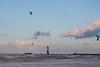 Kitesurfing in Warnemünde (1) (Lens Daemmi) Tags: 2017 balticsea herbst kitesurfing ostsee warnemã¼nde autumn fall herwart stormy storm deep depression