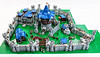 Theramore Castle (Mark of Falworth) Tags: lego castle fortress warcraft world of mark falworth legos walls wall tower keep knight knights castles huge massive big gigantic you get idea