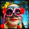 Mask (rustman) Tags: vivalavida diadelosmuertos dayofthedead austin austintx austintexas atx mexicarte mexicanfolkart mexicanart calavera parade portrait texaslife
