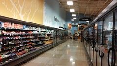 Dairy encroaches on the freezer (Retail Retell) Tags: horn lake ms kroger desoto county retail former seessels albertsons schnucks 2000 grocery palace acme theme park corrugated metal 2012 bountiful décor remodel