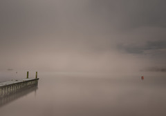 Lake District UK (mynameisblank!) Tags: lakedistrict lake clouds longexposure nikon nikond300s nature watersky negativespace whiteout jetty nikond3oos travel alwaysmoving lightroom editedinlightroom manfrotto manfrottotripod manfrottobefree