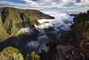 Dusk approaching fast (mistaluis) Tags: îledelaréunion mistaluis ravine mountains clouds sunset nature rivièredesremparts