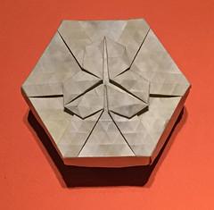 30-Trapezoid twist flower (mganans) Tags: origami tessellation box
