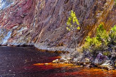 """Los colores del Tinto"" (allabar8769) Tags: agua color huelva minas montaña rocas río ríotinto vegetación cascada"