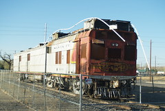 Here is how I found AT&SF M190 in Belen, NM on March 21, 2008 (railfan 44) Tags: santafe atsf doodlebug motorcar