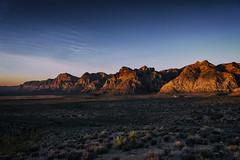 Mountain Sunrise (paulh192) Tags: nevada mojavedesert desert redrock sunrise leica sl