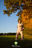 Qi Gong in der Abendsonne (Lebenskunst.) Tags: natur herbst bäume qigong qi gong wushu martialarts sonne abend abendsonne