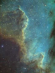 Cygnus Wall in NGC 7000 (Lynn van Rooijen) Tags: ngc7000 cygnuswall astrophotography narrowband