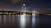 Mario M. Cuomo Bridge (Jemlnlx) Tags: canon eos 5d mark iv 4 5div 5d4 ef 2470mm f28 usm new tappan zee tappanzee bridge mario m cuomo twin south nyack york rockland county ny nys pierson park hudson river night evening dark lit lights gitzo 1541t tripod carbon fiber