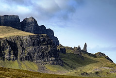 The Old Man of Storr. (boogie1670) Tags: canon7dmarkii canon 1585mm lens isle skye scotland old man storr landscapes mountains rocks ngc pinnacle
