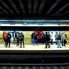 Metropolitana di Roma (pom.angers) Tags: europeanunion italy italia lazio people roma rome 2017 february panasonicdmctz30 100 200