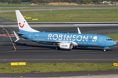 D-ATUI, TUI (Robinson Club Resorts) Boeing 737-800, DUS (Andries Cafmeyer) Tags: datui tui boeing 737 737800 robinson club resorts dusseldorf dus eddl germany 2017
