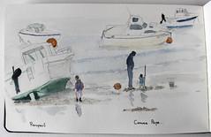 Comme Papa (chando*) Tags: croquis sketch aquarelle watercolor moleskine porspaul lampaulplouarzel bretagne finistère exploreoct282017339