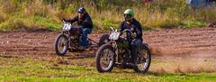 Three Wheeler vs Two Wheeler (John Kocijanski) Tags: motorcycle vehicles race dirtbike sport hillclimb people canon7d canon70300mmllens