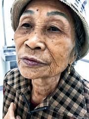 Portrait (leopc.lin) Tags: iphone dof portrait people old patient friends