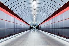 Lonely Station (*Capture the Moment*) Tags: 2015 kreillerstrase munich münchen sonya77 sonydt16105mm station subway ubahn