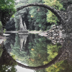 circle (derbaum) Tags: 2017 derbaum kromlau september sonyalpha unterwegs deutschland perfect circle perfectcircle