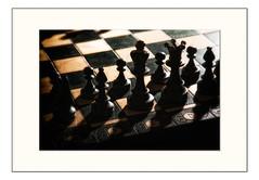 Chess (ronnymariano) Tags: wood shadow boardgame 2017 closeup strategy chess game macro silhouette hillburn newyork unitedstates us