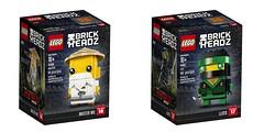 Ninjago BrickHeadz - box art (Brick Samurai) Tags: lego ninjago ninjagomovie brickheadz