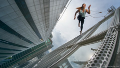 Walking on air for Nike (Von Wong) Tags: bryanmcclelland nike airmovesyouforward bestphotoshoots crazynikeshoots entrepreuneur epic epicnike epicprojects fantasy hanging ianbanzon mikeswift nikeshoes nikeskyscraper rigs skyscraper socialimpact surreal vapormax viralnike vonwong