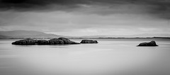 Silence (Robgreen13) Tags: iceland borganes snaefellsnes seascape waterscape islands bw mono longexposure ndfilters