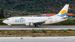 Aviolet - Boeing 737-300 - YU-ANK (domi26495) Tags: aviolet boeing 737300 yuank skiathos lgsk jsi planespotter spotter aircraft airplane flugzeug canon 70d