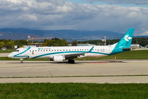 I-ADJO Embraer ERJ 195LR (190-200LR) E195 > DLA